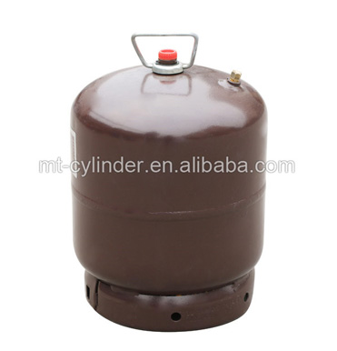 3kg double wire mouth Lpg gas cylinder for camping